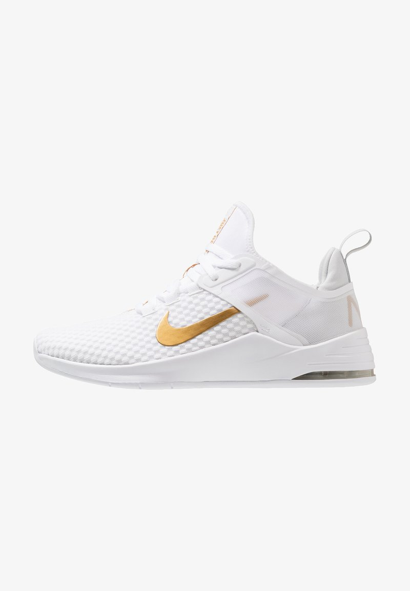 Nike Performance - AIR MAX BELLA TR 2 - Sports shoes - white/metallic gold/pure platinum