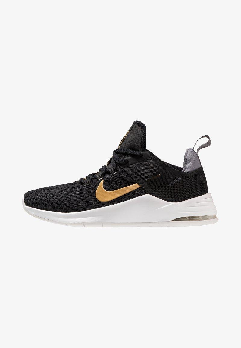 Nike Performance - AIR MAX BELLA TR 2 - Gym- & träningskor - black/metallic gold/gunsmoke/vast grey