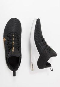 Nike Performance - AIR MAX BELLA TR 2 - Sports shoes - black/metallic gold/gunsmoke/vast grey - 1