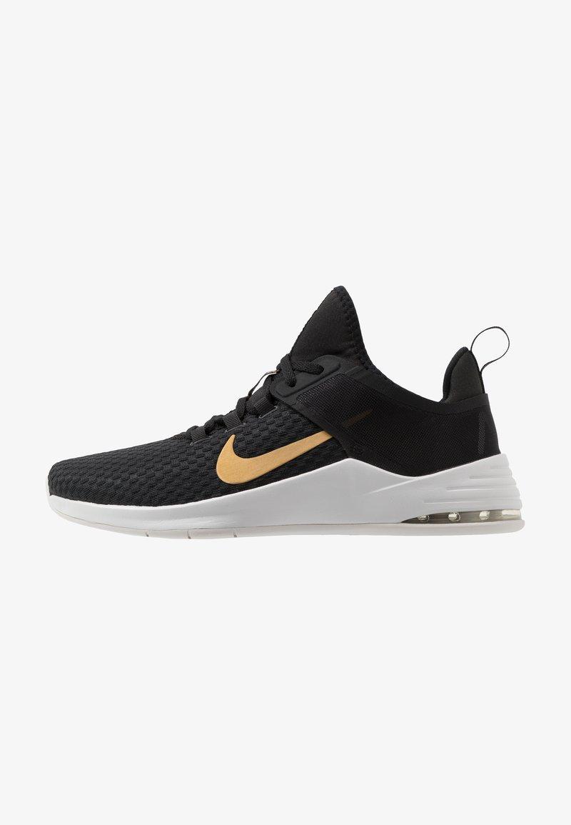 Nike Performance - AIR MAX BELLA TR 2 - Sports shoes - black/metallic gold/gunsmoke/vast grey
