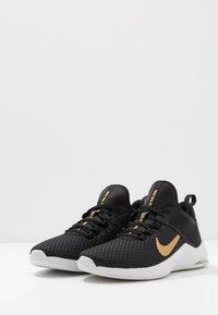 Nike Performance - AIR MAX BELLA TR 2 - Sports shoes - black/metallic gold/gunsmoke/vast grey - 2