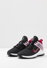 Nike Performance - AIR MAX BELLA TR 2 - Sports shoes - black/noble red/iced lilac/pistachio frost/white - 2