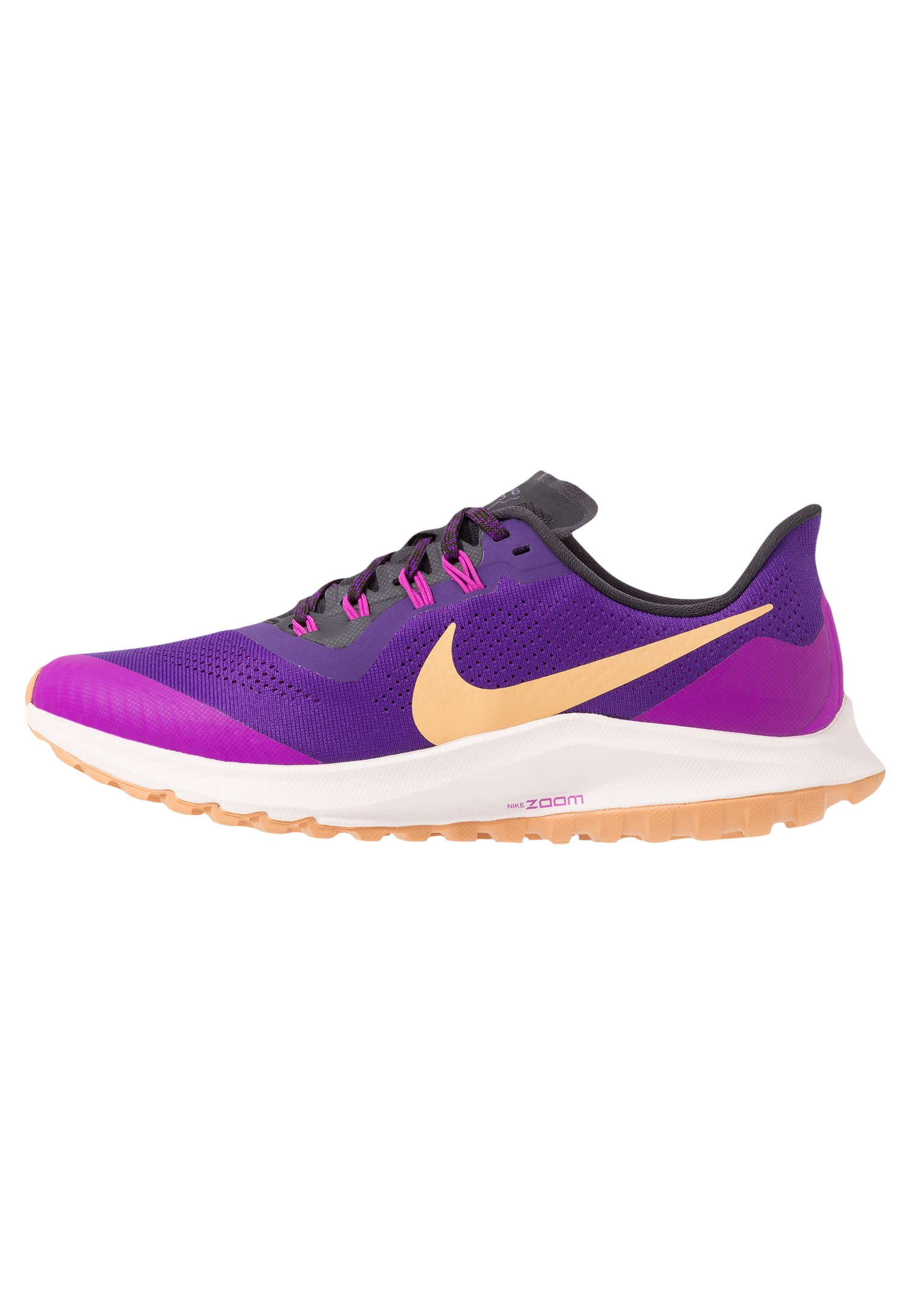AIR ZOOM PEGASUS 36 TRAIL Scarpe da trail running voltage purplecelestial goldoil greyhyper violet lt soft pink copper moon