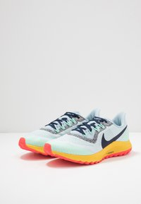 Nike Performance - AIR ZOOM PEGASUS 36 TRAIL - Zapatillas de trail running - aura/blackened blue/light armory blue/mint foam/speed yellow/laser crimson - 2