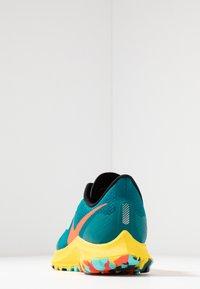 Nike Performance - AIR ZOOM PEGASUS 36 TRAIL - Zapatillas de trail running - geode teal/bright crimson/black/chrome yellow/aurora green - 3