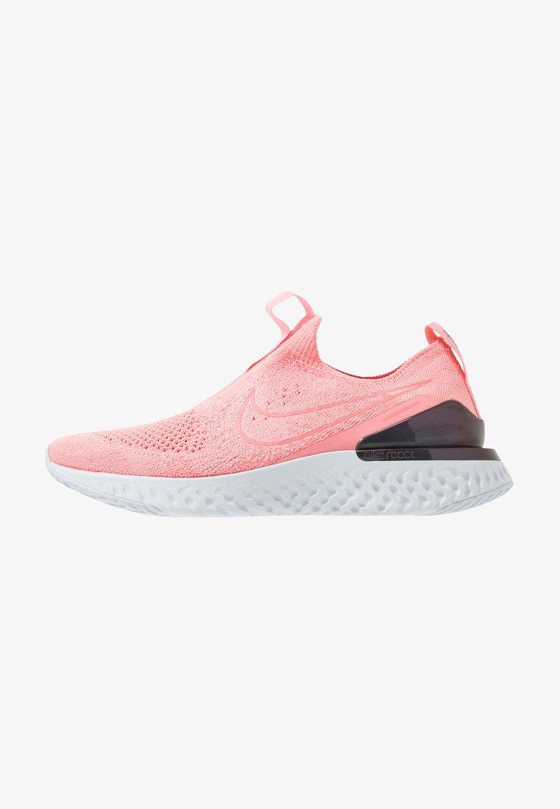Nike Performance - EPIC PHANTOM REACT FK - Neutral running shoes - bright melon/pure platinum