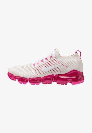 AIR VAPORMAX FLYKNIT 3 - Obuwie do biegania treningowe - phantom/white/laser fuchsia/pink rise
