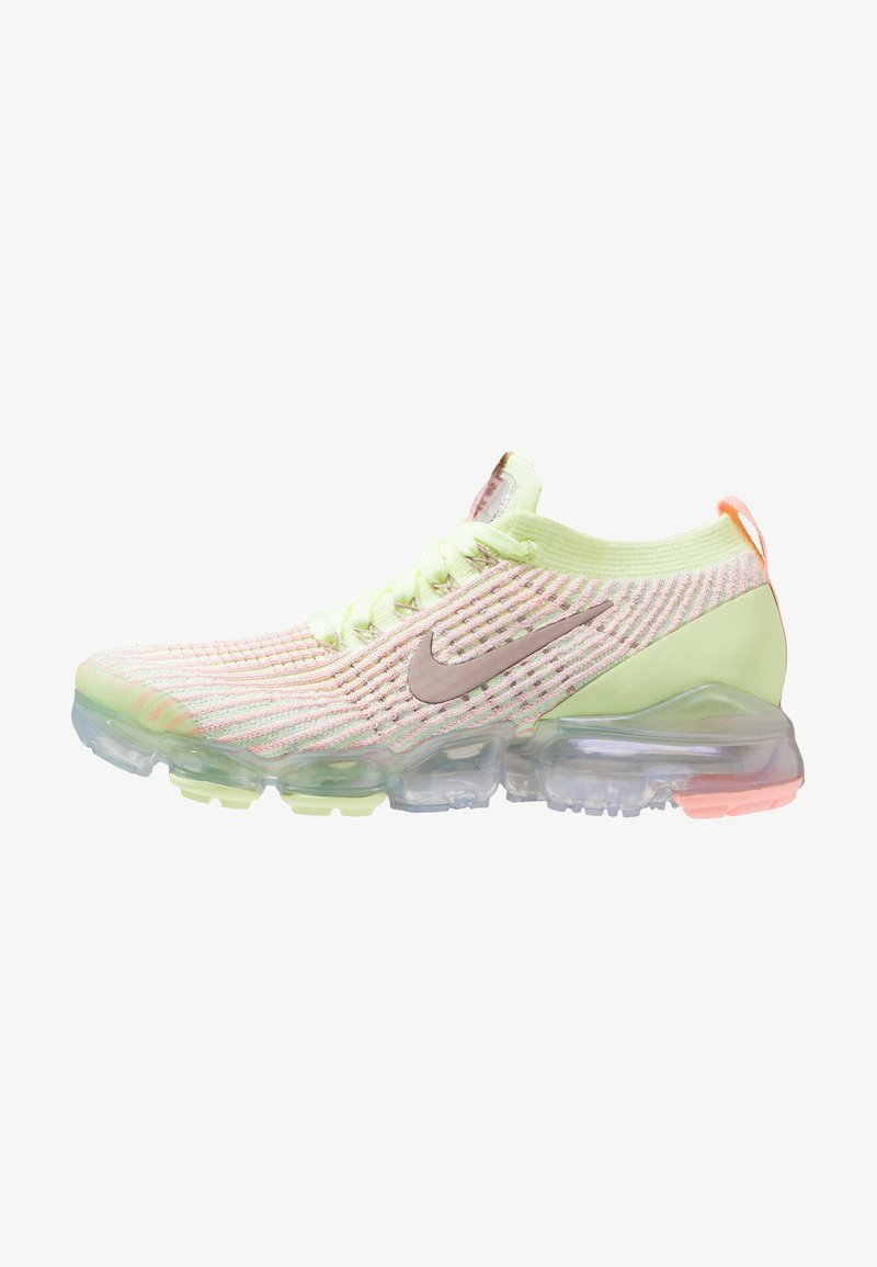 Nike Performance - AIR VAPORMAX FLYKNIT 3 - Neutral running shoes - barely volt/diffused taupe/pink tint