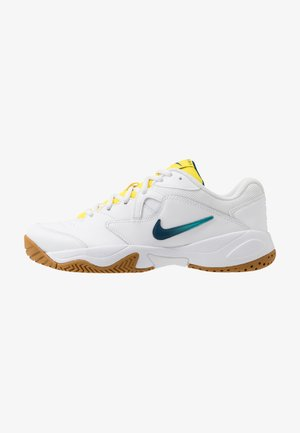 COURT LITE 2 - Zapatillas de tenis para todas las superficies - white/valerian blue/oracle aqua