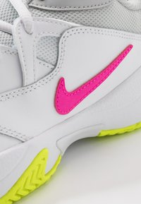 Nike Performance - COURT LITE 2 - Multicourt tennis shoes - white/laser fuchsia/hot lime/grey fog - 5