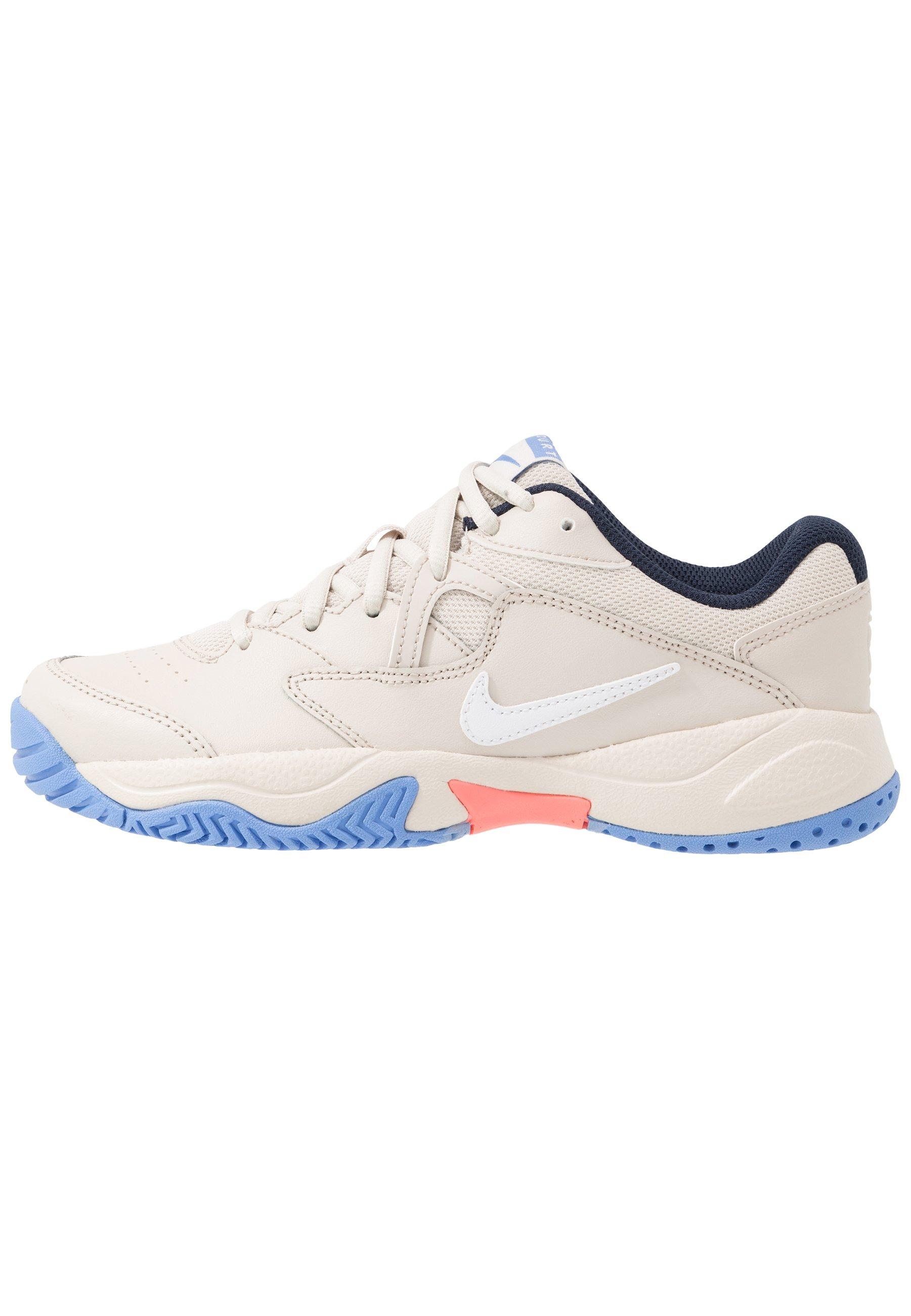 Nike Performance Court Lite 2 - All Tennisskor White/meallic Silver