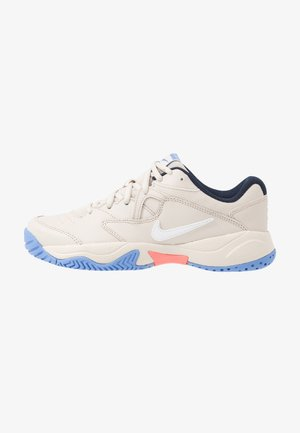 COURT LITE 2 - Buty tenisowe uniwersalne - light orewood brown/white/royal pulse