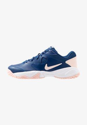 COURT LITE 2 - Tennisschoenen voor alle ondergronden - coastal blue/echo pink/storm pink/white