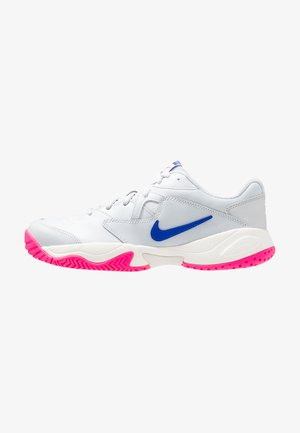 COURT LITE 2 - Multicourt tennis shoes - pure platinum/racer blue/metallic platinum/pink blast