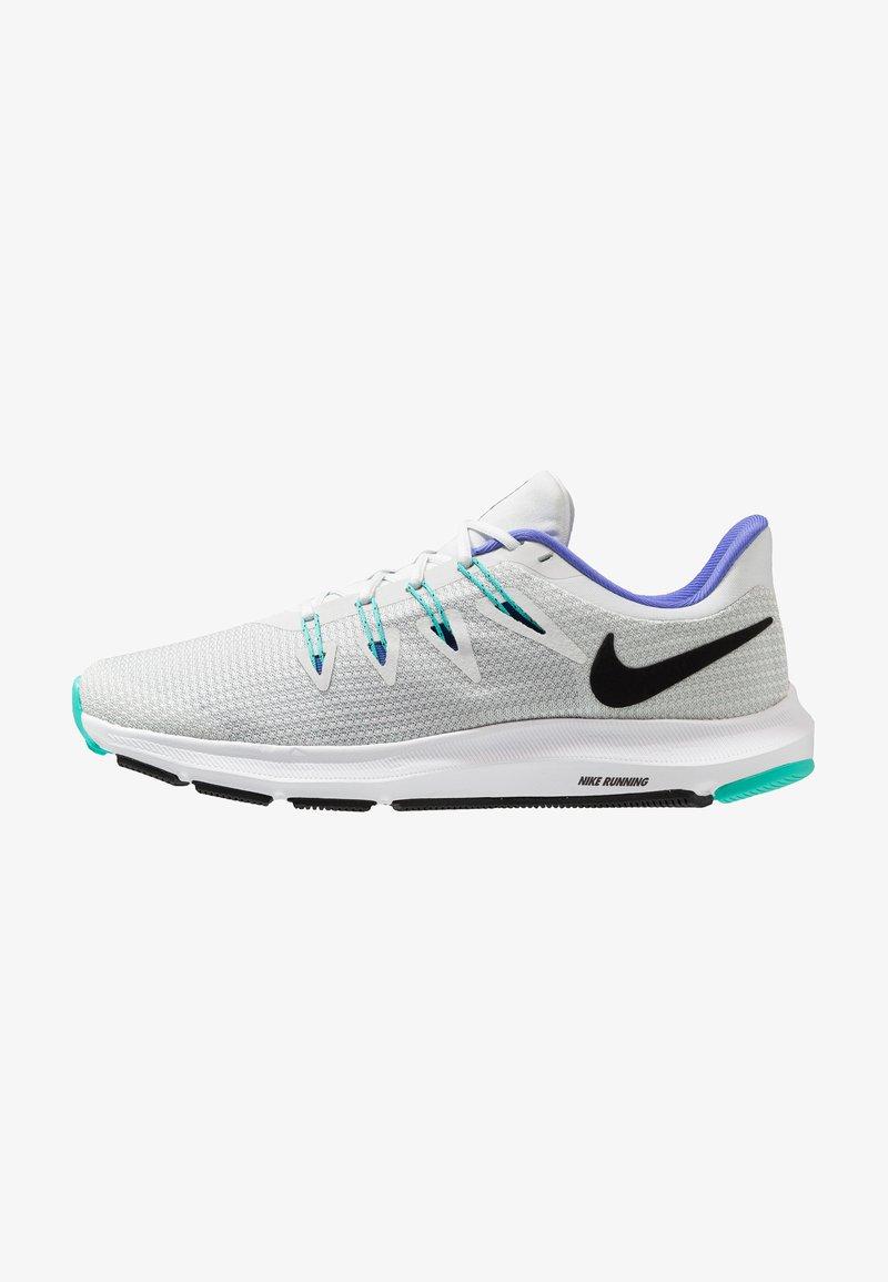 Nike Performance - QUEST DAMEN - Obuwie do biegania Stabilność - off white/black/hyper jade/sapphire/barley grey/white