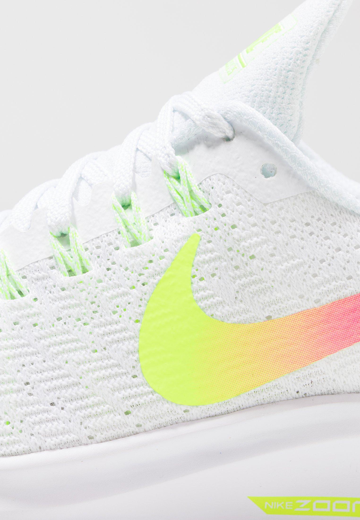 AIR ZOOM PEGASUS 35 - Zapatillas de running neutras - white/hyper  pink/volt/pure platinum