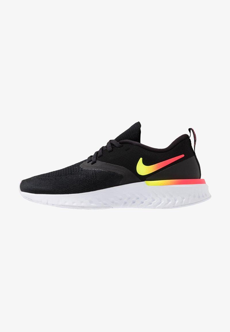Nike Performance - ODYSSEY REACT 2 FLYKNIT - Juoksukenkä/neutraalit - black