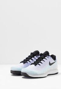 Nike Performance - AIR ZOOM VAPOR X - Chaussures de tennis toutes surfaces - pure platinum/black/purple agate/topaz mist - 2