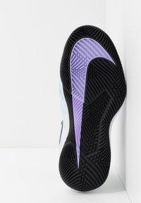 Nike Performance - AIR ZOOM VAPOR X - Chaussures de tennis toutes surfaces - pure platinum/black/purple agate/topaz mist - 4