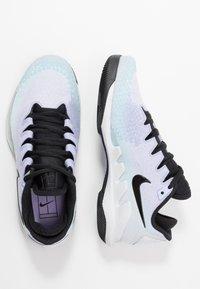 Nike Performance - AIR ZOOM VAPOR X - Chaussures de tennis toutes surfaces - pure platinum/black/purple agate/topaz mist - 1