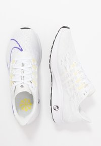 Nike Performance - AIR ZOOM PEGASUS 36 JDI - Hardloopschoenen neutraal - white/psychic purple/summit white/laser fuchsia/yellow pulse/black - 1
