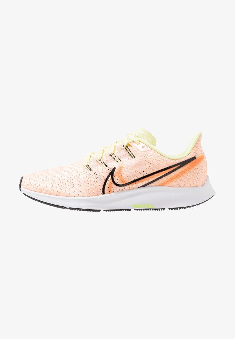 Nike Performance - AIR ZOOM PEGASUS 36 PRM RISE - Neutral running shoes - crimson tint/black/luminous green/orange trance/white/electric green