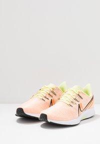 Nike Performance - AIR ZOOM PEGASUS 36 PRM RISE - Scarpe running neutre - crimson tint/black/luminous green/orange trance/white/electric green - 2