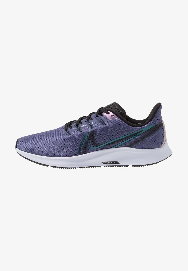 Nike Performance - AIR ZOOM PEGASUS 36 PRM RISE - Neutral running shoes - sanded purple/black/midnight turq/ghost/oil grey
