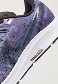 Nike Performance - AIR ZOOM PEGASUS 36 PRM RISE - Neutral running shoes - sanded purple/black/midnight turq/ghost/oil grey - 5