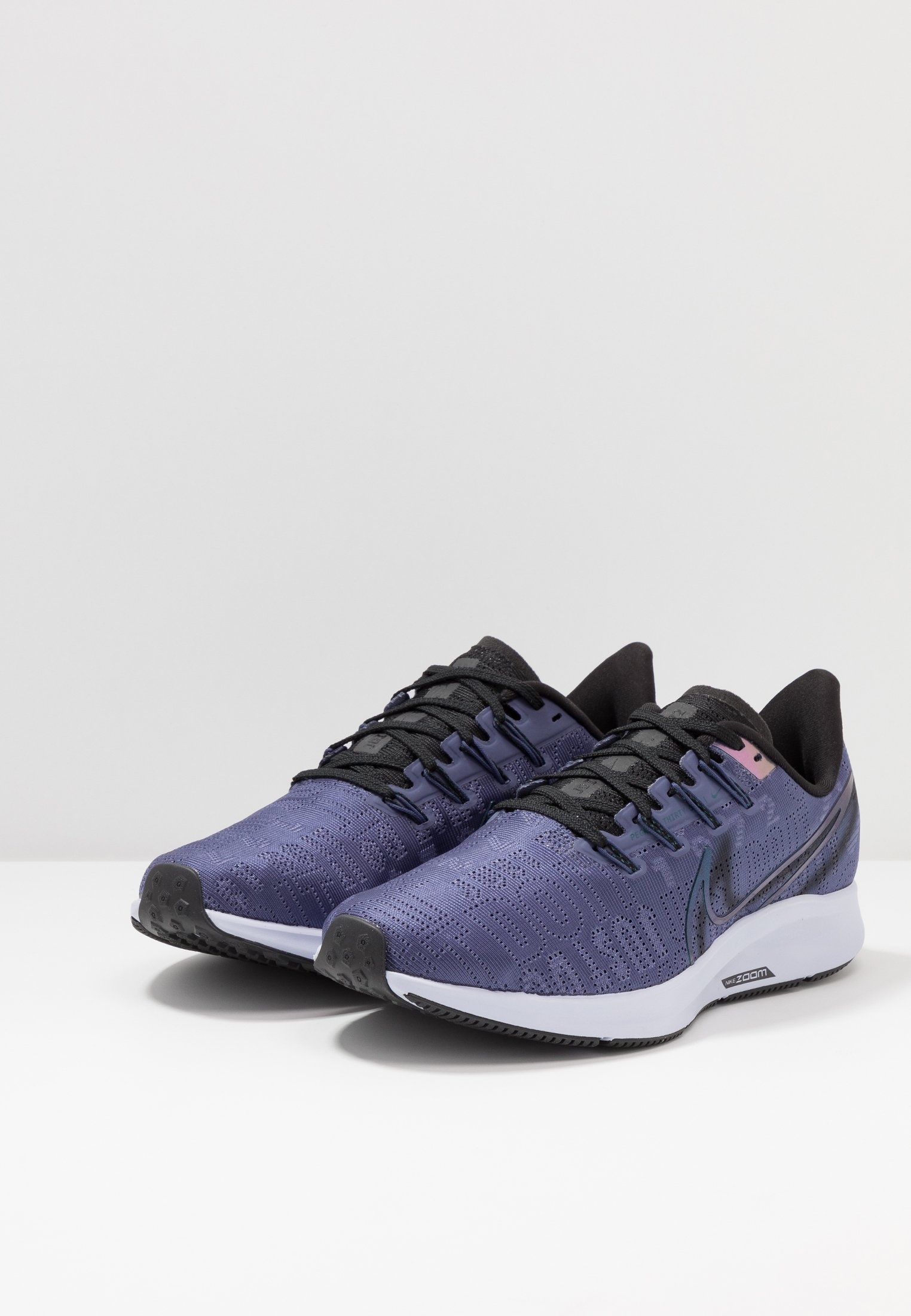 Nike Performance Air Zoom Pegasus 36 Prm Rise - Laufschuh Neutral Sanded Purple/black/midnight Turq/ghost/oil Grey Black Friday