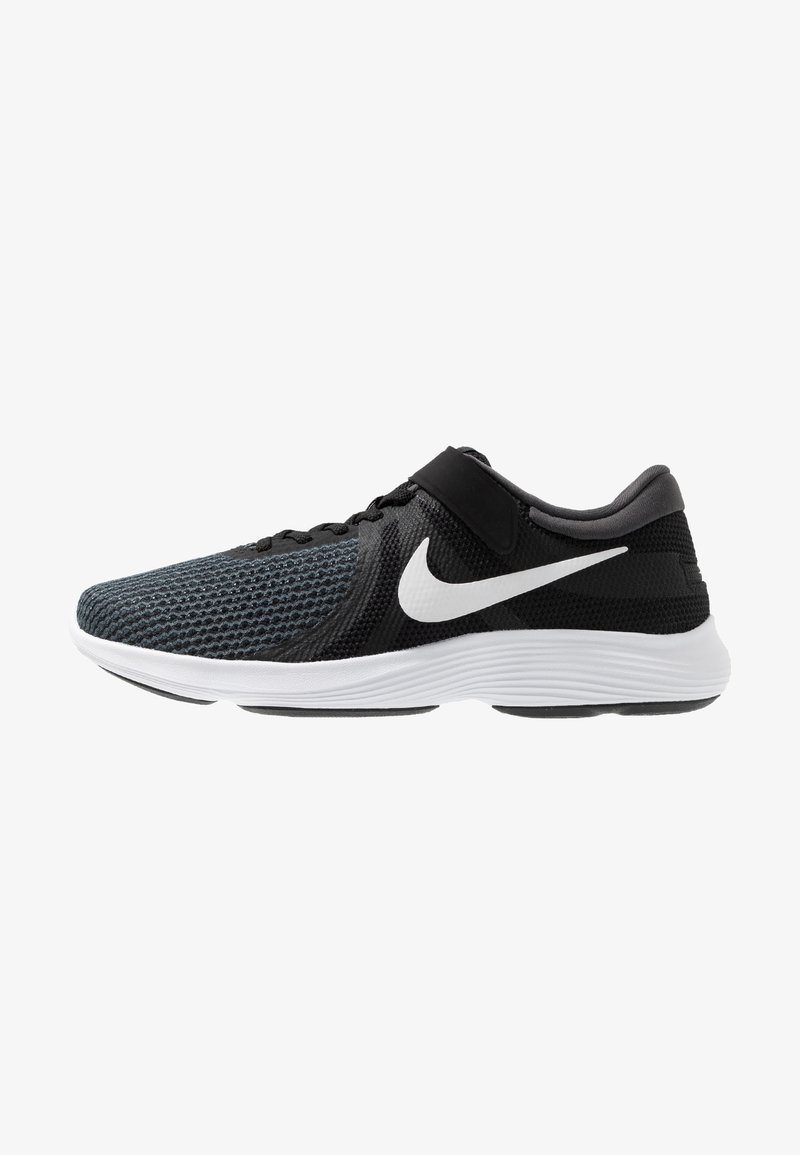 Nike Performance - REVOLUTION 4 FLYEASE - Neutrala löparskor - black/white/anthracite/solar red