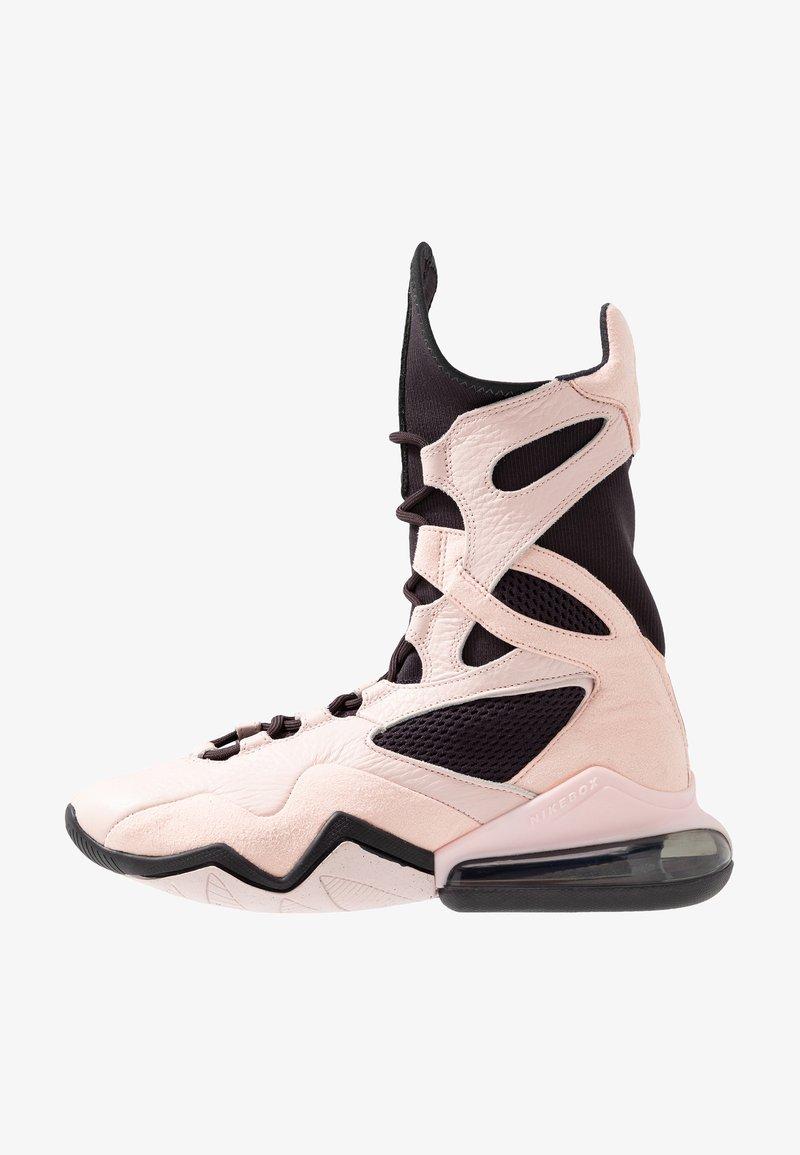 Nike Performance - AIR MAX BOX - Sportschoenen - oil grey/echo pink/anthracite