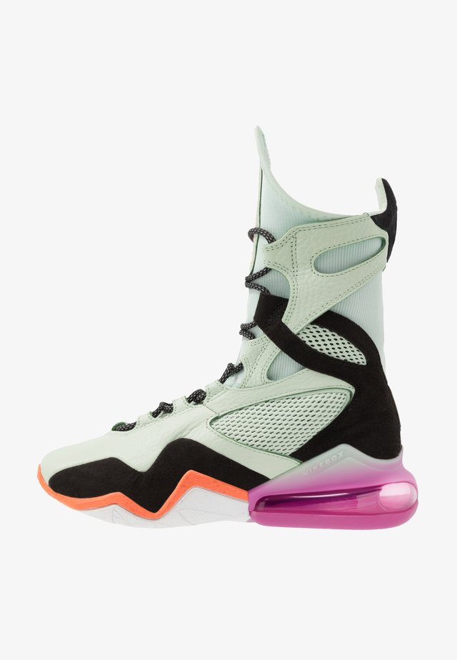 AIR MAX BOX - Sports shoes - pistachio frost/fossil/black/cosmic fuchsia/hyper crimson/hyper blue