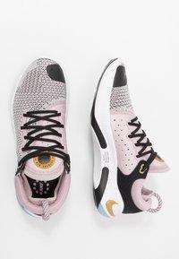 Nike Performance - JOYRIDE RUN - Neutral running shoes - plum chalk/black/platinum violet/metallic gold/white - 1