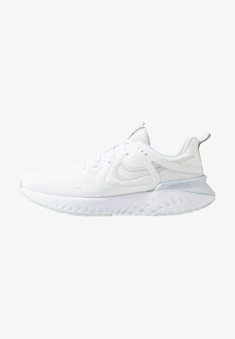 Nike Performance - LEGEND REACT  - Neutral running shoes - white/pure platinum