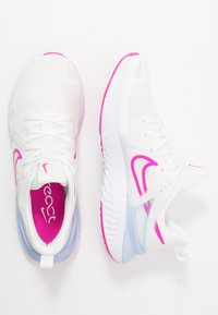Nike Performance - LEGEND REACT 2 - Neutral running shoes - summit white/fire pink/hydrogen blue - 1