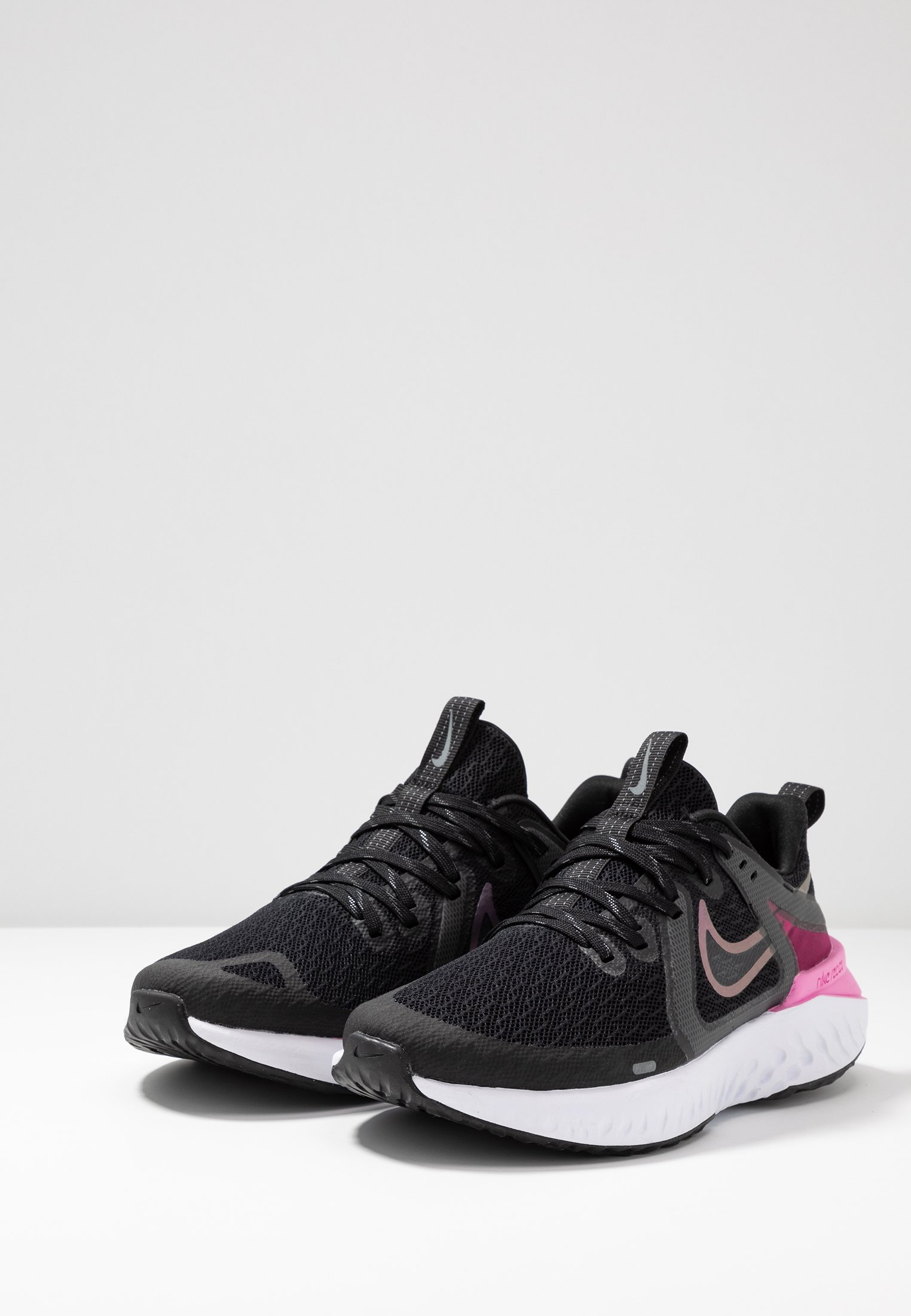 Neutres React De cool Nike Running white 2Chaussures Performance Pink Grey Legend psychic Black CWxodrBe