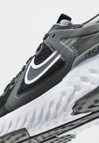 Nike Performance - LEGEND REACT 2 - Hardloopschoenen neutraal - black/white/cool grey/metalliccool grey - 5