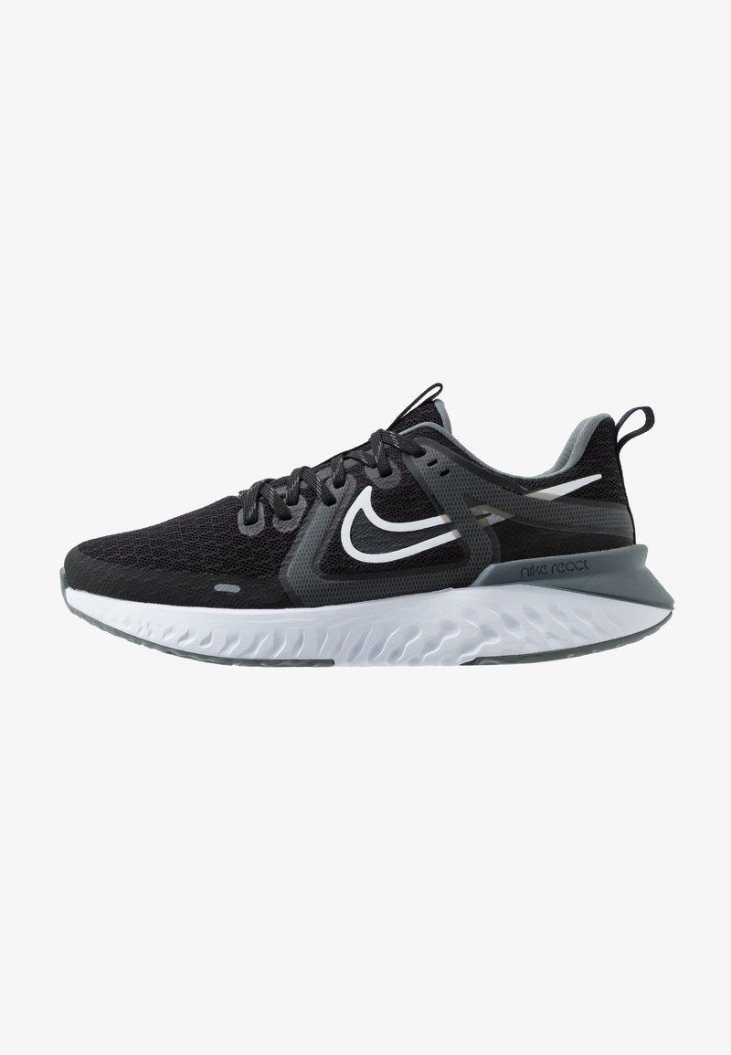 Nike Performance - LEGEND REACT 2 - Hardloopschoenen neutraal - black/white/cool grey/metalliccool grey