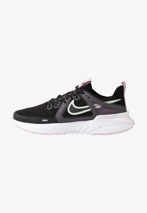 LEGEND REACT 2 - Zapatillas de running neutras - black/pistachio frost/iced lilac/light violet/noble red