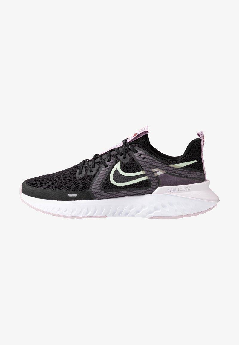 Nike Performance - LEGEND REACT 2 - Zapatillas de running neutras - black/pistachio frost/iced lilac/light violet/noble red
