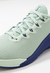Nike Performance - METCON 5 - Sports shoes - pistachio frost/deep royal blue/spruce aura