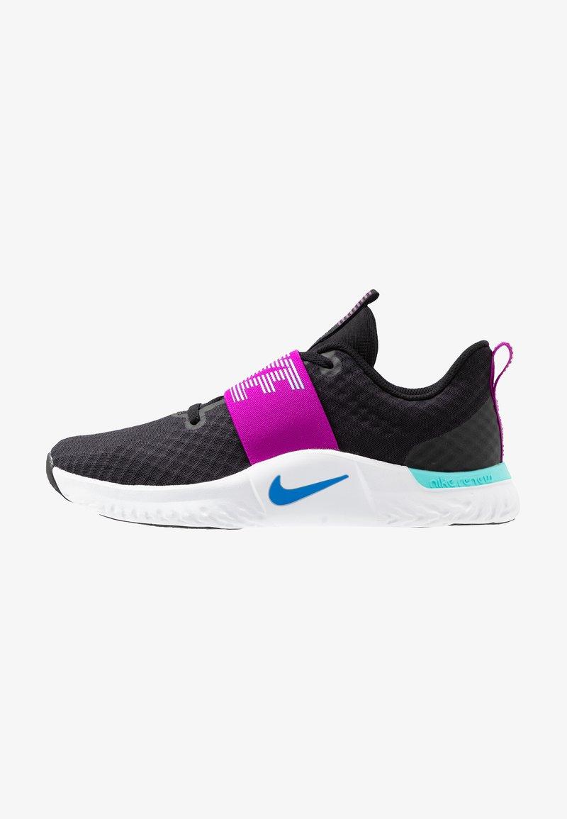 Nike Performance - RENEW IN-SEASON TR 9 - Trainings-/Fitnessschuh - black/photo blue/vivid purple/light aqua/white