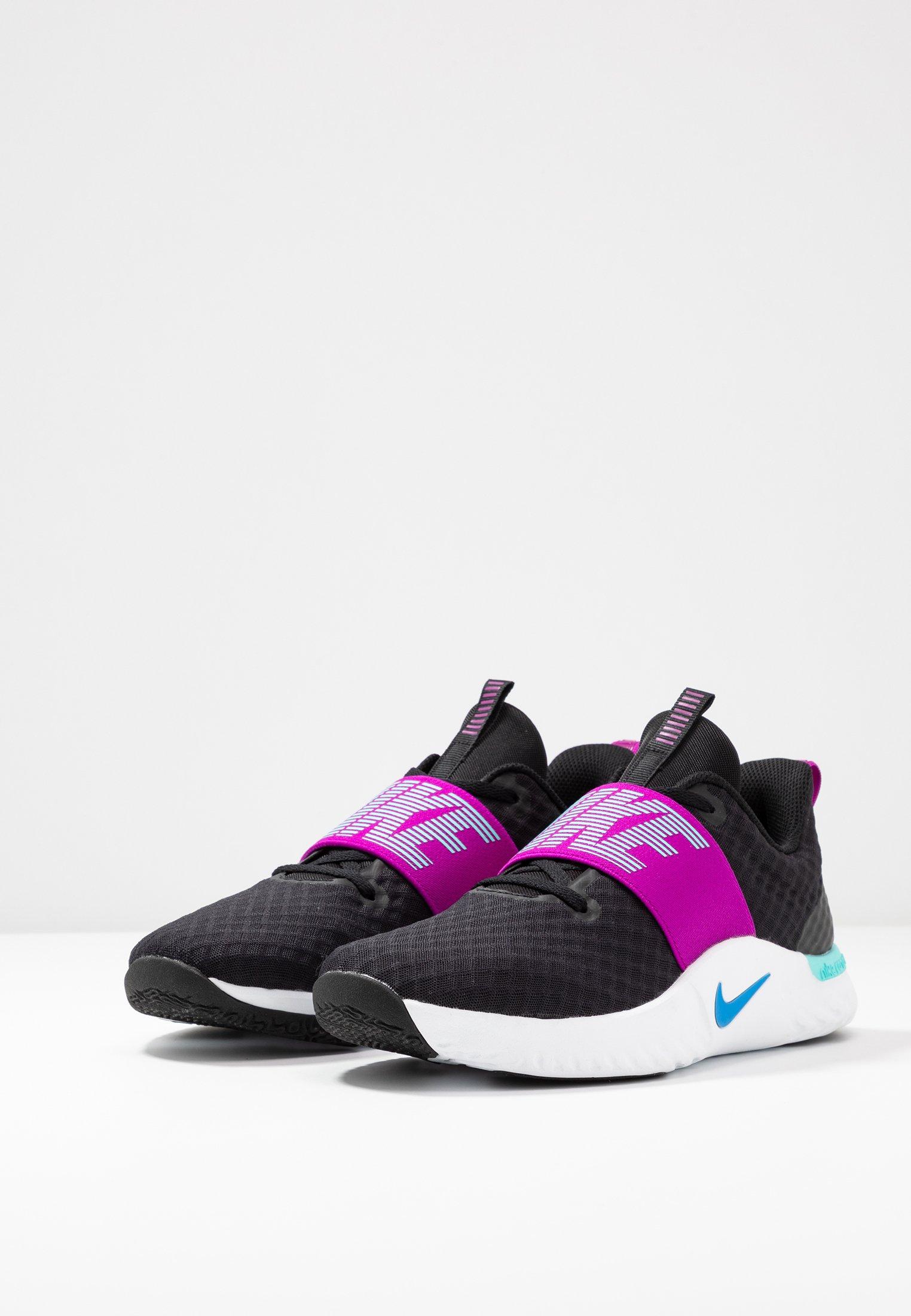 Nike Performance Renew In-season Tr 9 - Sportschoenen Black/photo Blue/vivid Purple/light Aqua/white