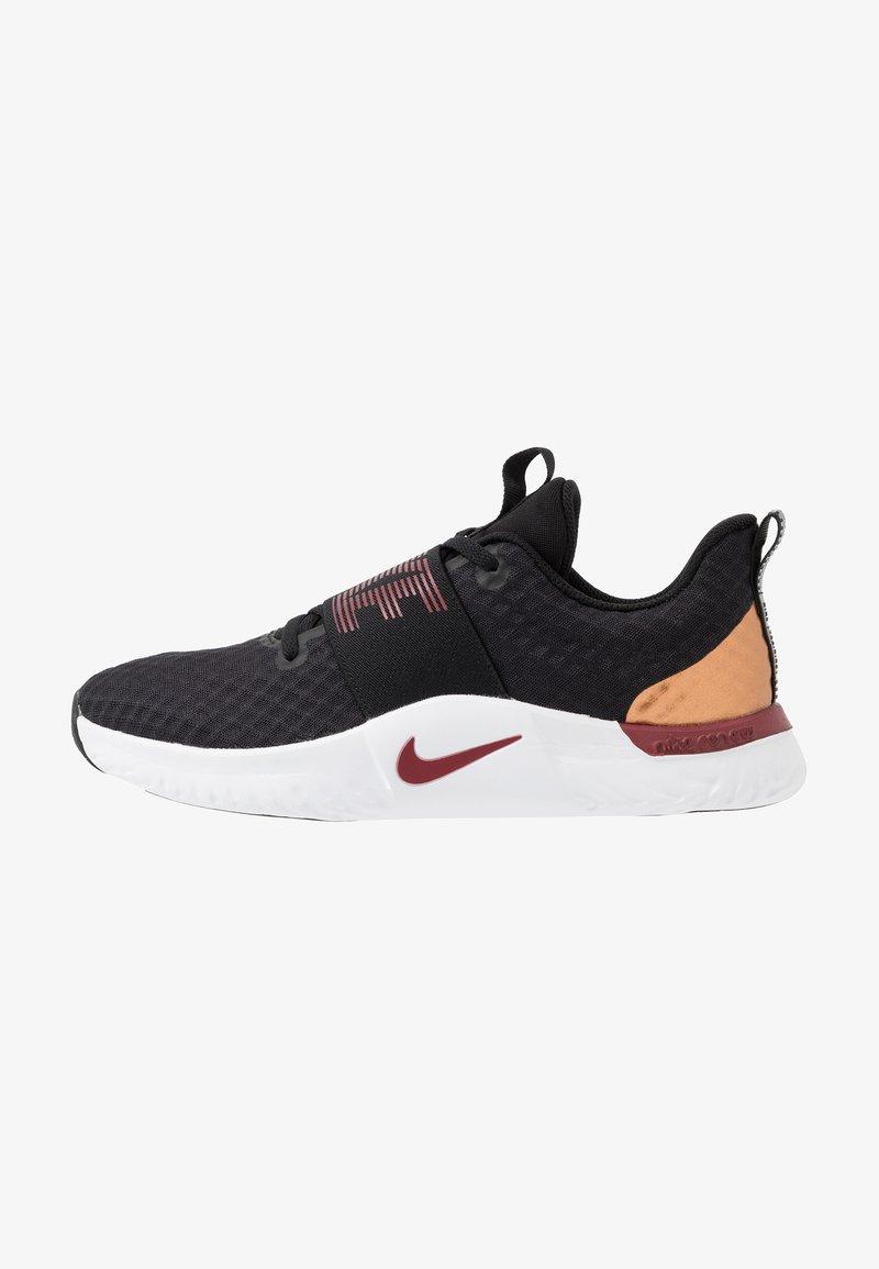 Nike Performance - RENEW IN-SEASON TR 9 - Obuwie treningowe - black/team red/metallic copper/white
