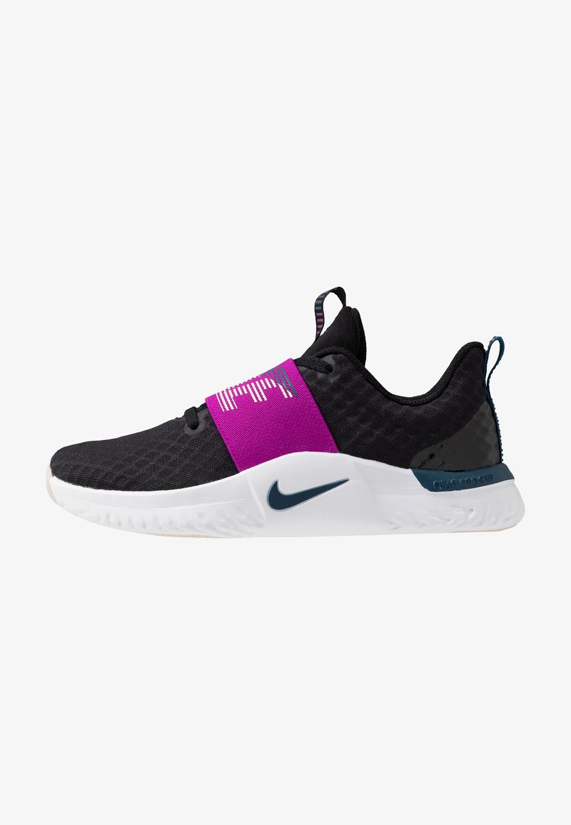 Nike Performance - RENEW IN-SEASON TR 9 - Sportovní boty - black/valerian blue/vivid purple/barely rose/white