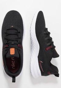 Nike Performance - RENEW RIVAL 2 - Zapatillas de running neutras - black/night maroon/metallic copper - 1