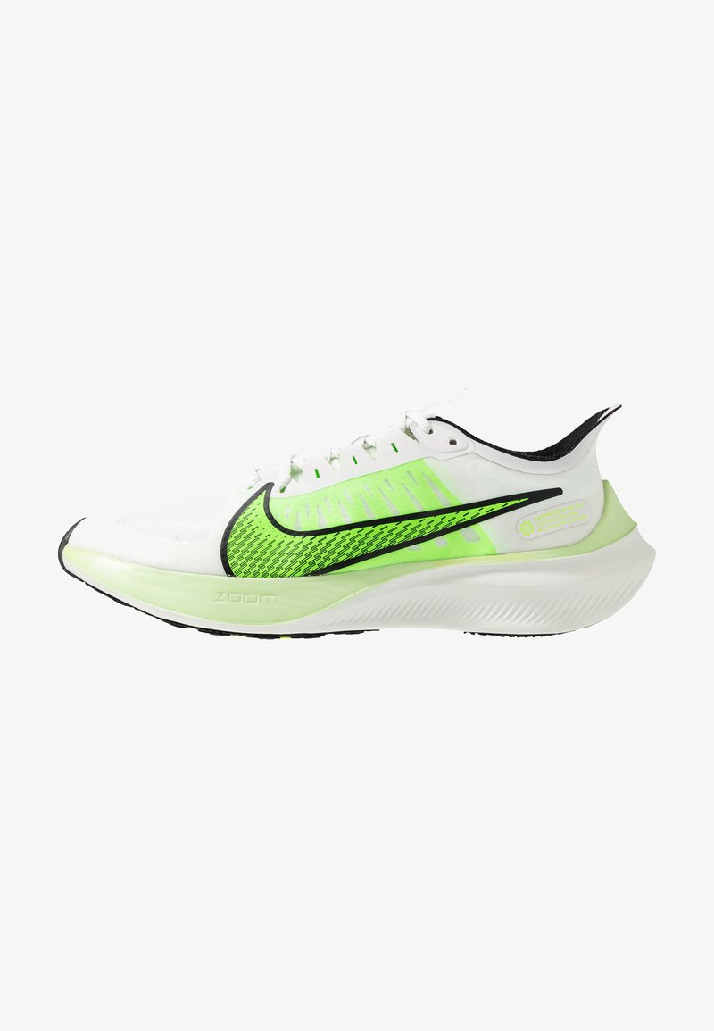 Nike Performance - ZOOM GRAVITY - Neutrale løbesko - summit white/electric green/black/spruce aura/lab green