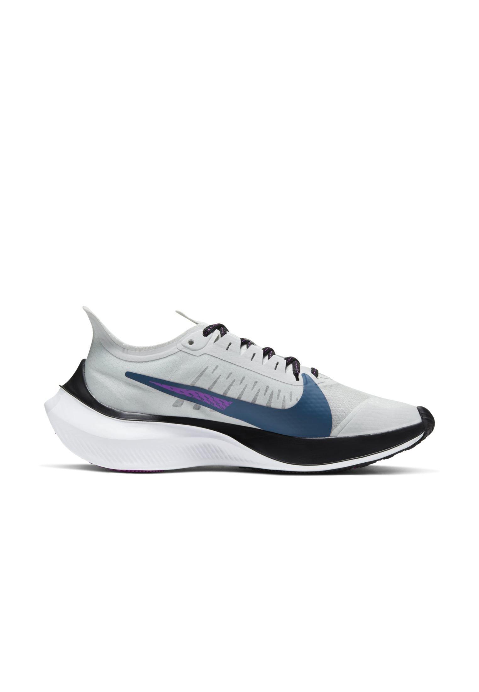 Nike Performance ZOOM GRAVITY - Obuwie do biegania treningowe - photon dust/ light smoke gray/black/valerian blue