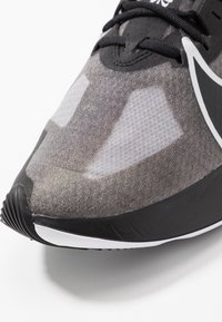 Nike Performance - ZOOM GRAVITY - Neutral running shoes - black/metallic silver/wolf grey/white - 5